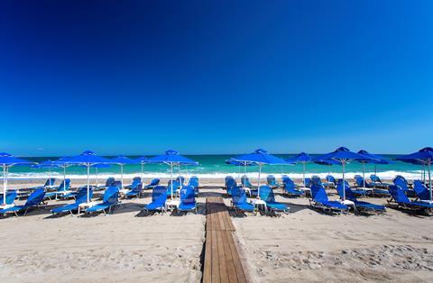 Marinos Beach Griekenland Kreta Rethymnon sfeerfoto 4