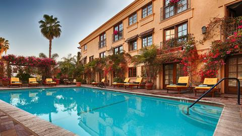 Zonvakantie Best Western Plus Sunset Plaza in Los Angeles (Californie, Verenigde Staten)