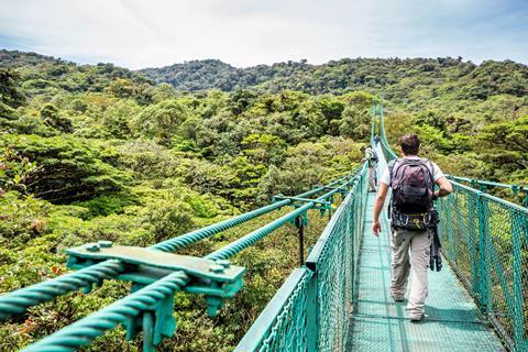 9-daagse rondreis Costa Rica in vogelvlucht
