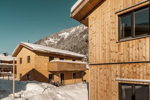 Goedkope skivakantie Montafon ⛷️Chalet Resort Montafon