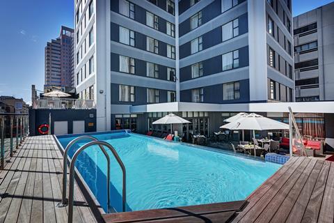 Holiday Inn Cape Town Zuid-Afrika Westkaap Kaapstad  sfeerfoto groot