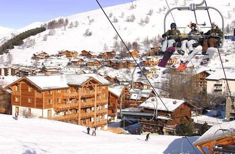Goedkope wintersport Franse Alpen ⛷️Alba