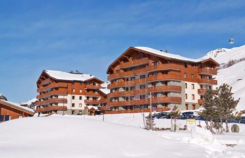 Wintersport Les Chalets de L'Adonis in Les Menuires (Franse Alpen, Frankrijk)