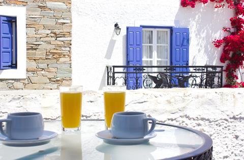 Naxos Holidays Griekenland Cycladen Naxos-stad sfeerfoto 3
