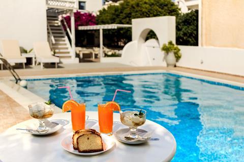Villa Vergina Griekenland Cycladen Perissa sfeerfoto 4