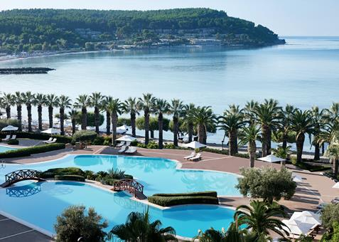Sani Beach Griekenland Chalkidiki Kassandra sfeerfoto 3