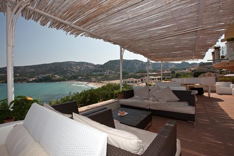 Club Hotel Italië Sardinië Baia Sardinia sfeerfoto 2