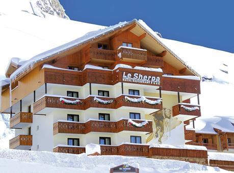 Wintersport Le Sherpa in Val Thorens (Franse Alpen, Frankrijk)