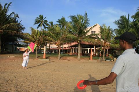 Paradise Beach Sri Lanka West-Sri Lanka Negombo sfeerfoto 1