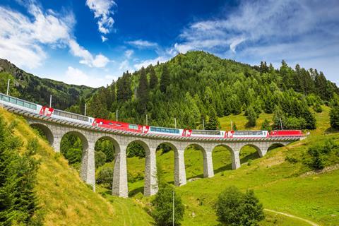 8-daagse rondreis Ontdek Graubünden