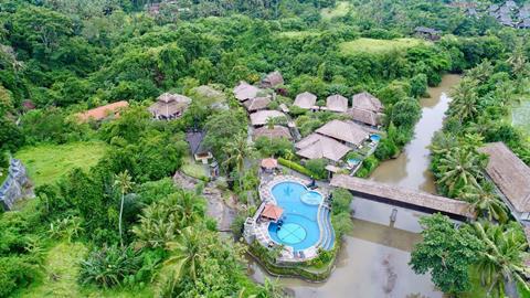 Santi Mandala Resort & Spa Indonesië Bali Ubud sfeerfoto 2
