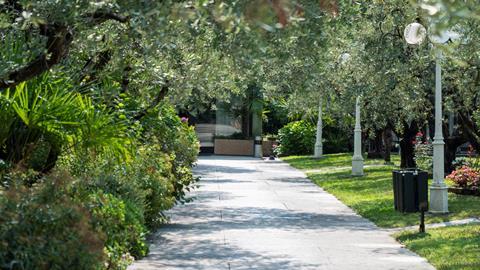Parc hotel Oasi Italië Gardameer Garda sfeerfoto 4