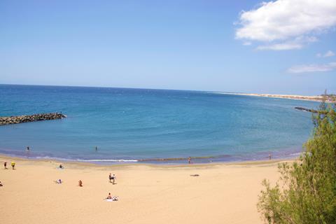 Corona Roja Spanje Canarische Eilanden Playa del Inglés sfeerfoto 4