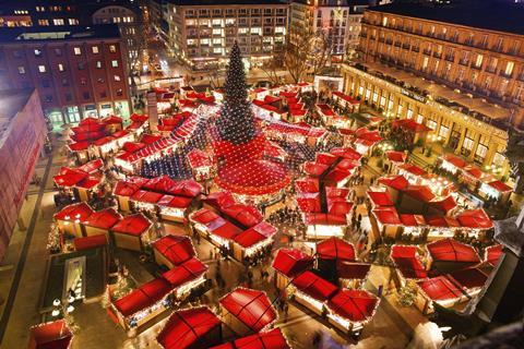 4-daagse Vakantie naar 4 dg Kerstshopping cruise over de Rijn in