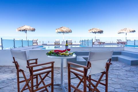 Splendour Resort Griekenland Cycladen Firostefani  sfeerfoto groot
