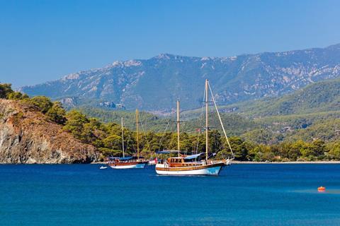 8-daagse Blue Cruise Turkse Rivièra