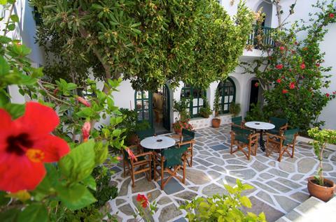 Kalypso Griekenland Cycladen Naoussa sfeerfoto 4