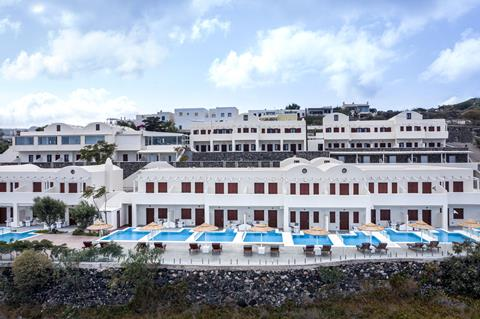 Splendour Resort Griekenland Cycladen Firostefani sfeerfoto 1
