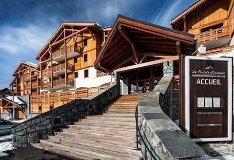 TIP skivakantie Franse Alpen ⛷️Residence Les Chalets d' Emeraude