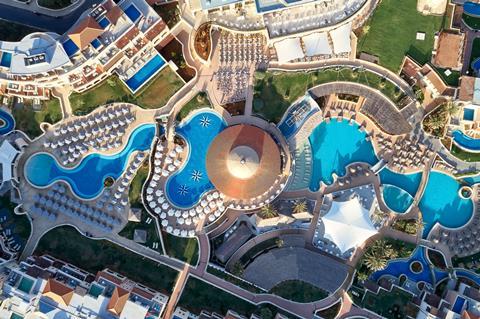 TUI SENSATORI Resort Atlantica Caldera Palace Griekenland Kreta Analipsi sfeerfoto 2