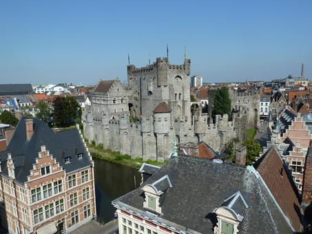 All inclusive stedentrip Scheldeland - Gravensteen