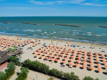 Spiaggia e Mare Italië Adriatische Rivièra Porto Garibaldi sfeerfoto 2