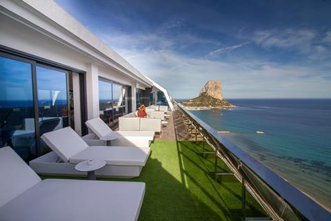 Suitopia Sol y Mar Suites Hotel Spanje Costa Blanca Calpe sfeerfoto 2
