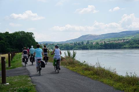 8-daagse fietsreis Wenen-Budapest