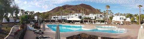 Palmeras Garden Spanje Canarische Eilanden Playa Blanca  sfeerfoto groot