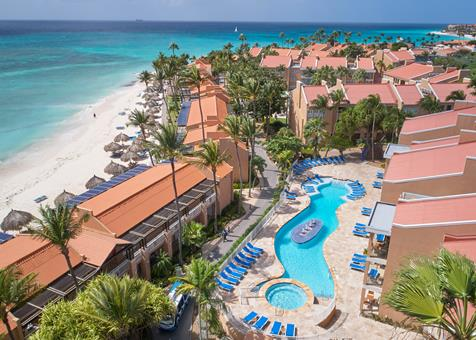 Divi Dutch Village Beach Resort Aruba Aruba Druif Beach  sfeerfoto groot