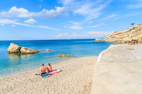Olympia Beach Griekenland Samos Kokkari sfeerfoto 3