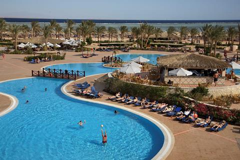 Jaz Mirabel Beach Resort Egypte Sharm el Sheikh Nabq Bay sfeerfoto 2