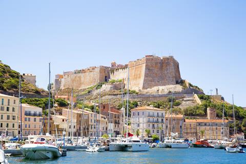 Zonvakantie Best Western du Roy d'Aragon in Bonifacio (Corsica, Frankrijk)