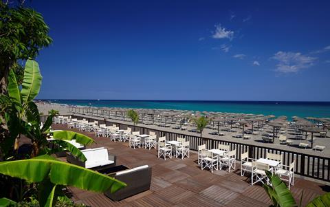 Naxos Beach Italië Sicilië Giardini-Naxos sfeerfoto 3