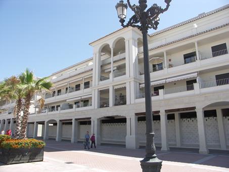 Plaza de Espana Spanje Andalusië Nerja sfeerfoto 3