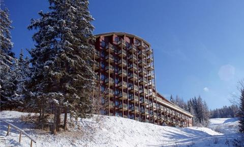 Wintersport Mercure les Arcs in Arc 1800 (Franse Alpen, Frankrijk)