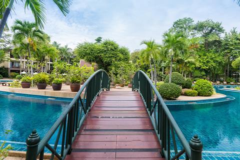 Green Park Resort Thailand Golf van Thailand Pattaya sfeerfoto 1
