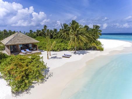 Korting zonvakantie Malediven 🏝️Hurawalhi Resort Maldives