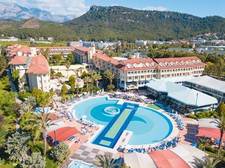 Queen's Park Le Jardin Resort Turkije Turkse Rivièra Kemer sfeerfoto 2