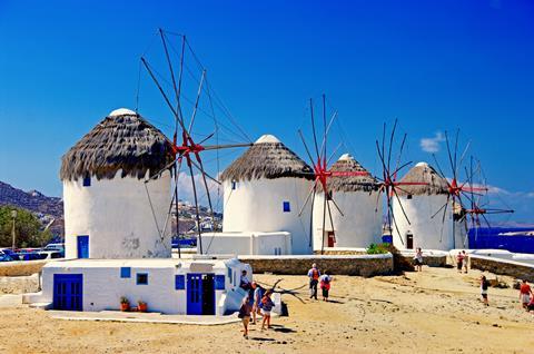 15-dgs combinatiereis Verrassend Cycladen 3* Griekenland   sfeerfoto 1