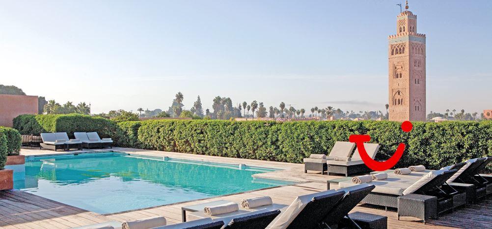les jardins de la koutoubia hotel marrakech marokko tui. Black Bedroom Furniture Sets. Home Design Ideas