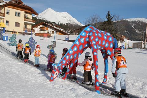 Goedkope skivakantie Dolomieten ⛷️Wiesenrain