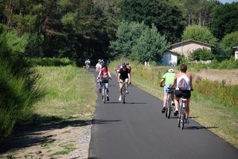 6-daagse fietsreis Main