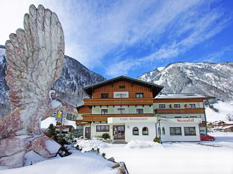 Goedkope skivakantie Salzburgerland ⛷️Wasserfall