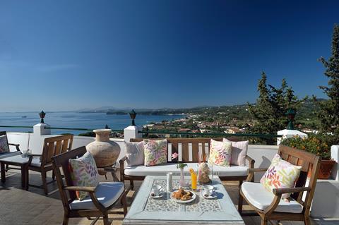 Marilena Sea View Griekenland Corfu Pyrgi sfeerfoto 1