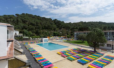 Med Playa Holiday Club San Eloy Spanje Catalonië Tossa de Mar sfeerfoto 1