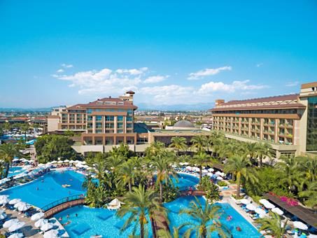 Sunis Kumkoy Beach Resort Turkije Turkse Rivièra Side sfeerfoto 4