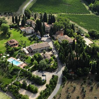 Fonte de' Medici / Podere Tignanello Italië Toscane Montefiridolfi sfeerfoto 2