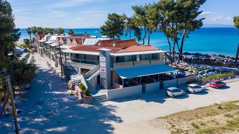 Flegra Beach Griekenland Chalkidiki Pefkochori sfeerfoto 2