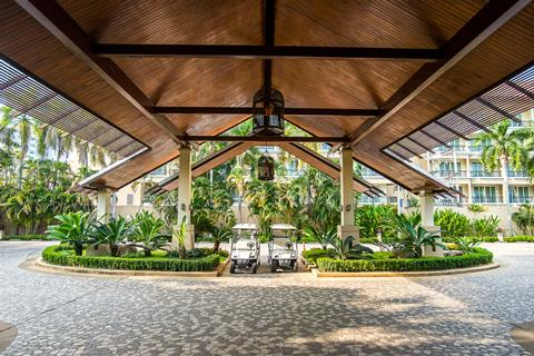 Ravindra Beach Resort & Spa Thailand Golf van Thailand Jomtien sfeerfoto 4